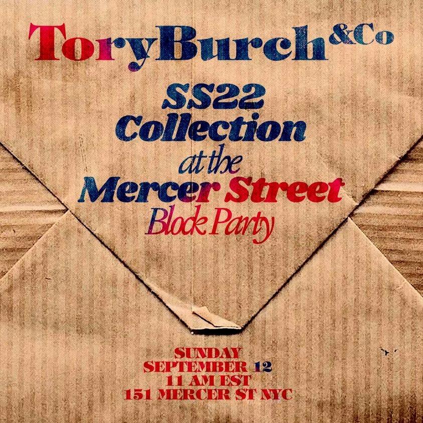 2022紐約春夏時裝周│Tory Burch大秀9/12零時差直播