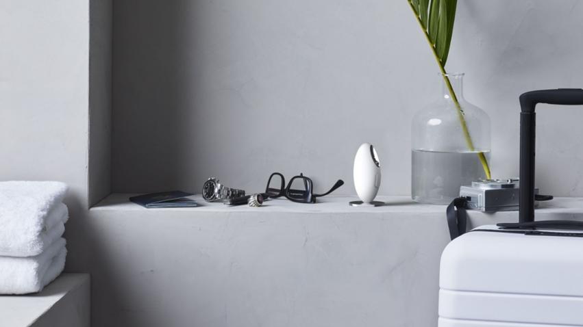 就像藝術品的熱銷香氛儀,鵝卵石造型象牙白機身,美好生活就從療癒香氣開始