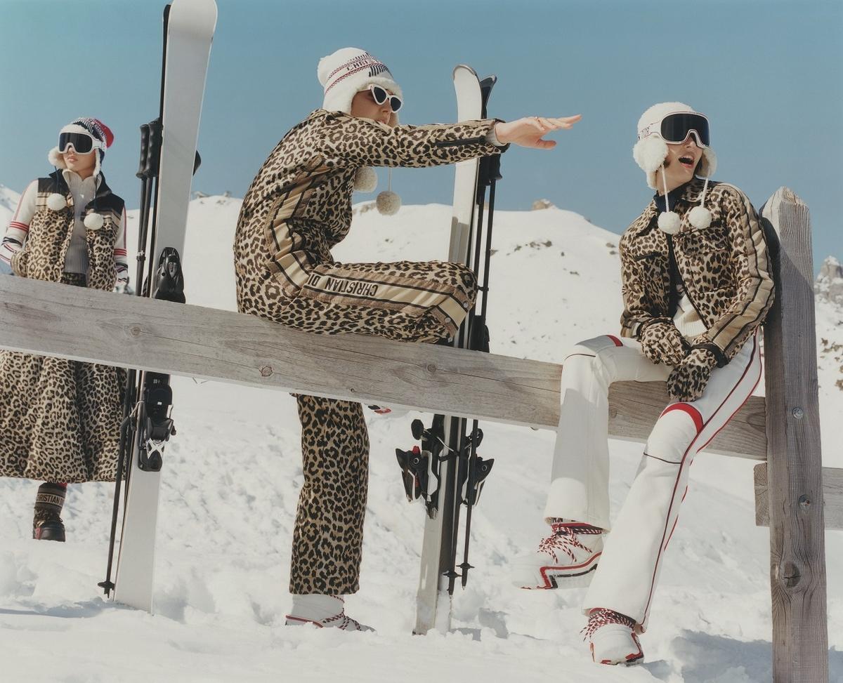 滑雪女孩必收的時髦裝備!DiorAlps雪地系列不只有型更保暖