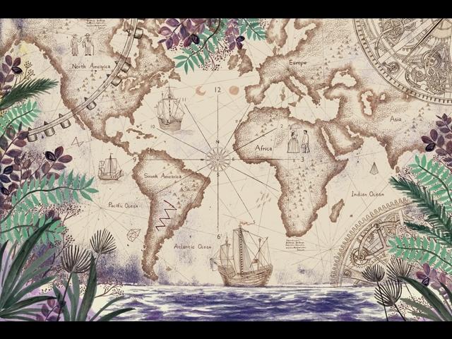 徐至宏〈航海世界〉,100x77cm,電腦繪圖。