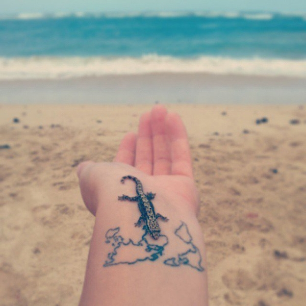 跟著刺青去旅行!25 種「微刺青」去找到旅行的意義