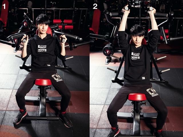 控制飲食加健身 嚴爵六塊肌輕鬆練
