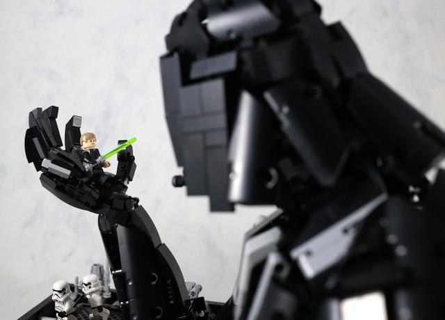 黑武士放大招 樂高星戰日MOC競賽得獎的是....