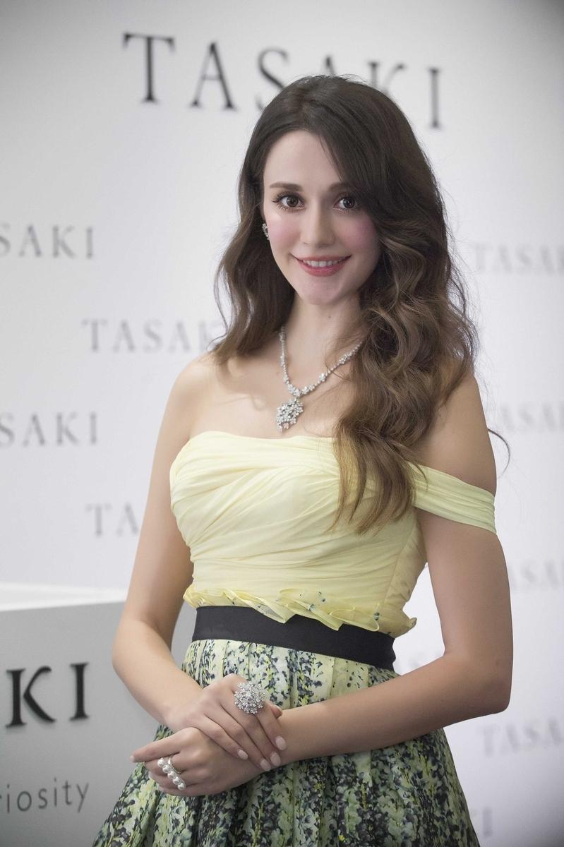 TASAKI高級珠寶展 妝點東方女人