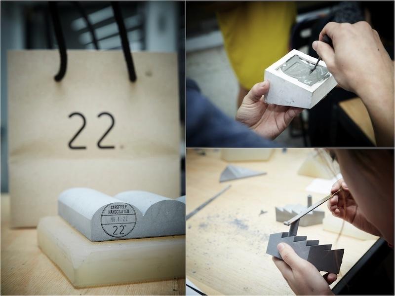 到工坊買設計!22 work/shop 帶你體驗水泥設計的從無到有