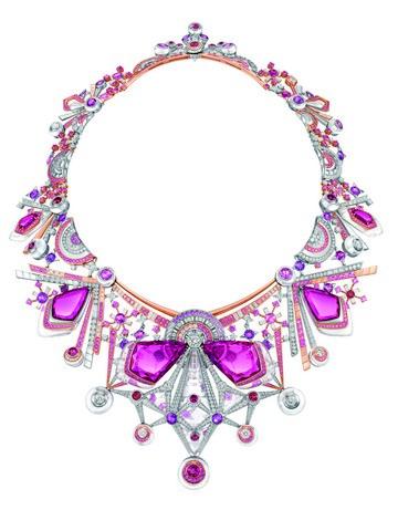 周大福名貴珠寶展「凝光臻藝」  蒙德里安穿戴上身