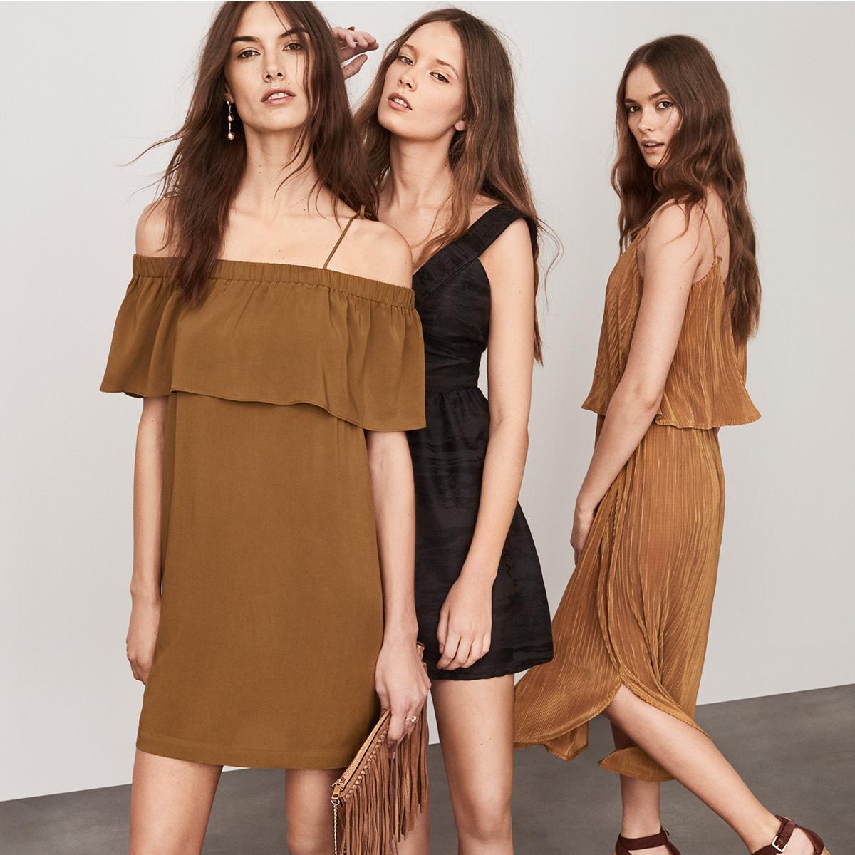 不經意的性感最迷人!初夏女人必敗的4款洋裝