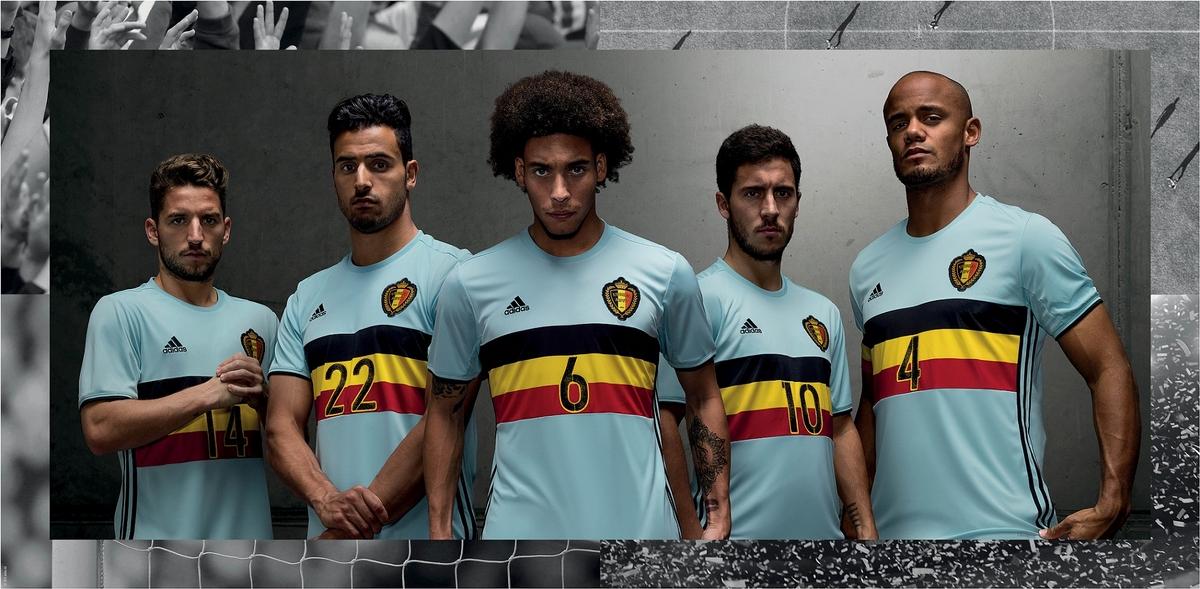 歐國盃提前升溫! Adidas釋出2016主客場UEFA EURO球衣!