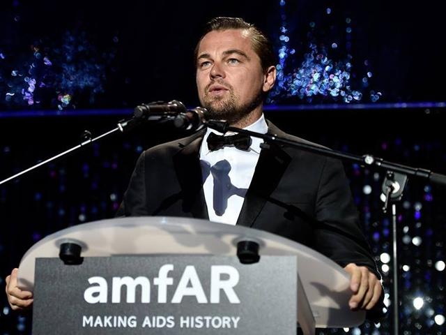 跑趴王李奧那多也出席 與眾家超模一起「電影對抗愛滋」