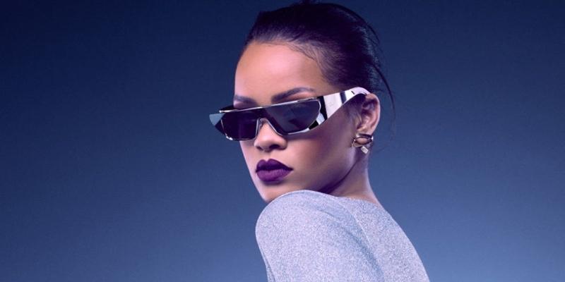 蕾哈哪時尚功力再發威! Rihanna x Dior 推出太陽眼鏡系列