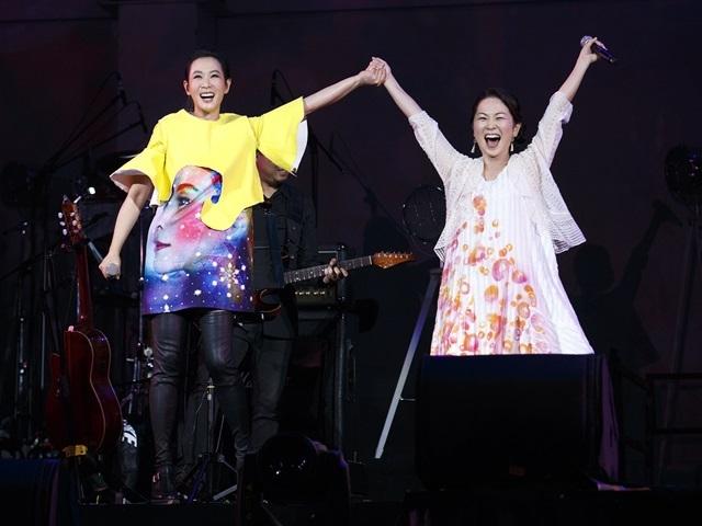 劉若英熱唱台北限定組曲 嘉賓Kiroro驚喜重現經典