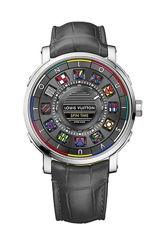 與LV一起去旅行 世界時區、GMT腕錶輕裝上陣
