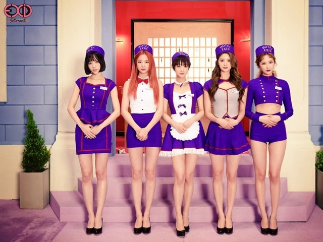 EXID首發正規專輯 化身性感女僕席捲舞台