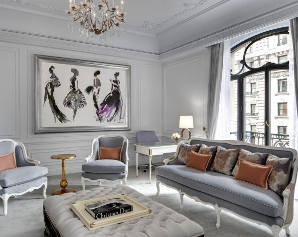 Dior風格度假不必等到2017: The St. Regis® New York的Dior套房