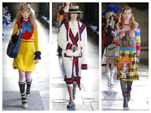 Gucci 2017早春演繹絮亂之美  承載英國歷史與美學