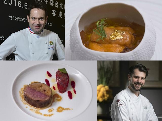 JBF、MOF名廚Claude Le Tohic客座台北亞歷山大牛排,雙廚激盪Fusion味