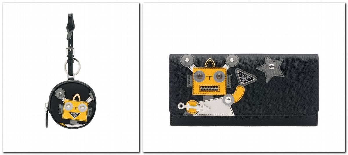 時尚萌心再進擊!Prada機器人系列俏皮回歸