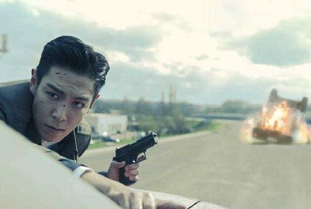 男神T.O.P搭檔張柏芝 電影《失控》玩命飛車花絮曝光