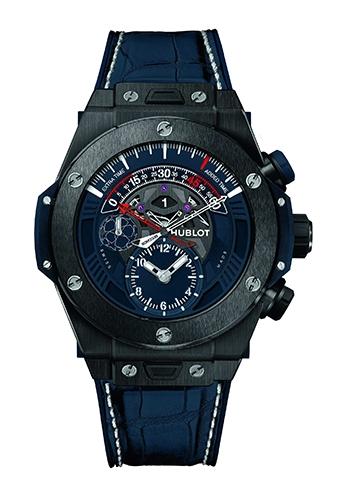 HUBLOT致敬足球盛事 推限量逆跳計時腕錶
