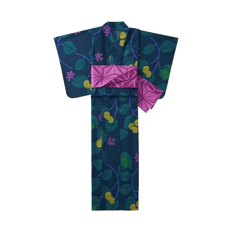 與夏天最合拍❤少女心大噴發的UNIQLO浴衣6/17開賣