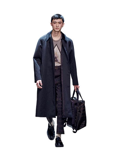 2015秋冬男裝周報導-超長版大衣