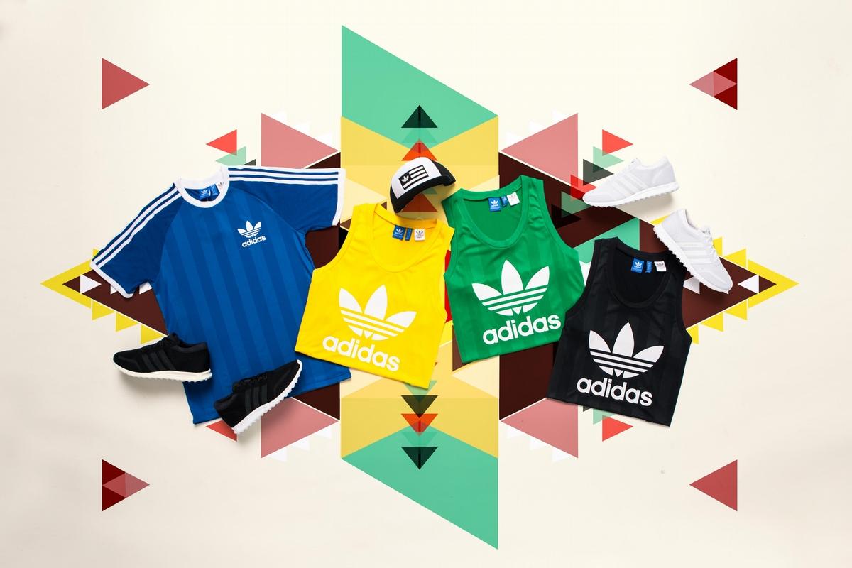 閨蜜一起穿好適合!adidas Originals注入奧運DNA推高彩度運動背心