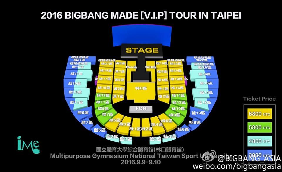 BIGBANG台北見面會加場 TOP確定無緣會粉絲