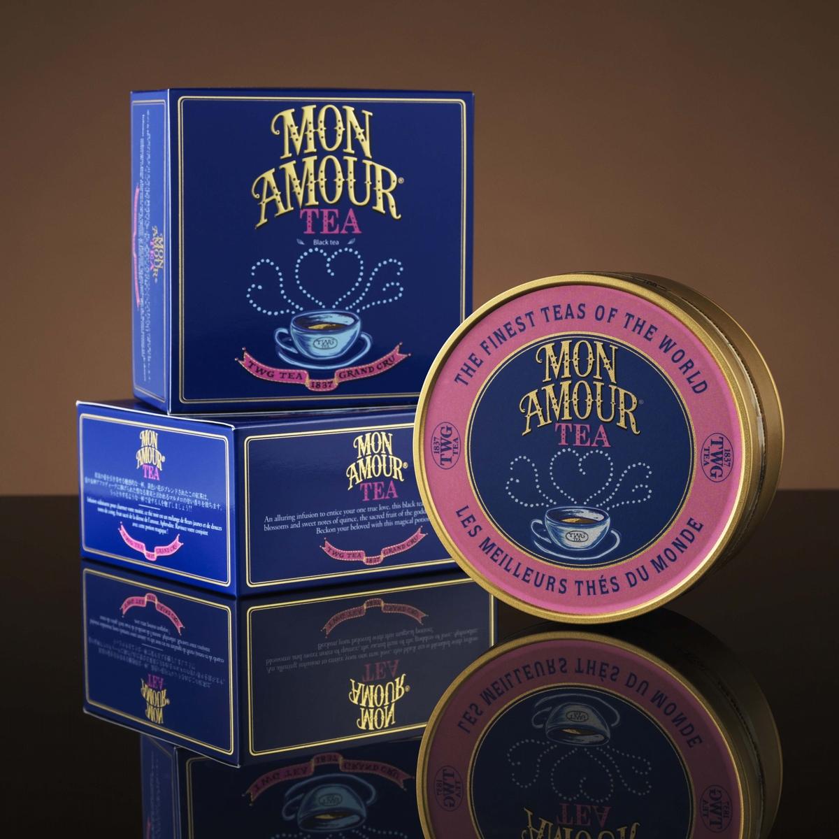 TWG Tea Mon Amour Tea 吾愛之茶魚子醬錫罐包裝茗茶