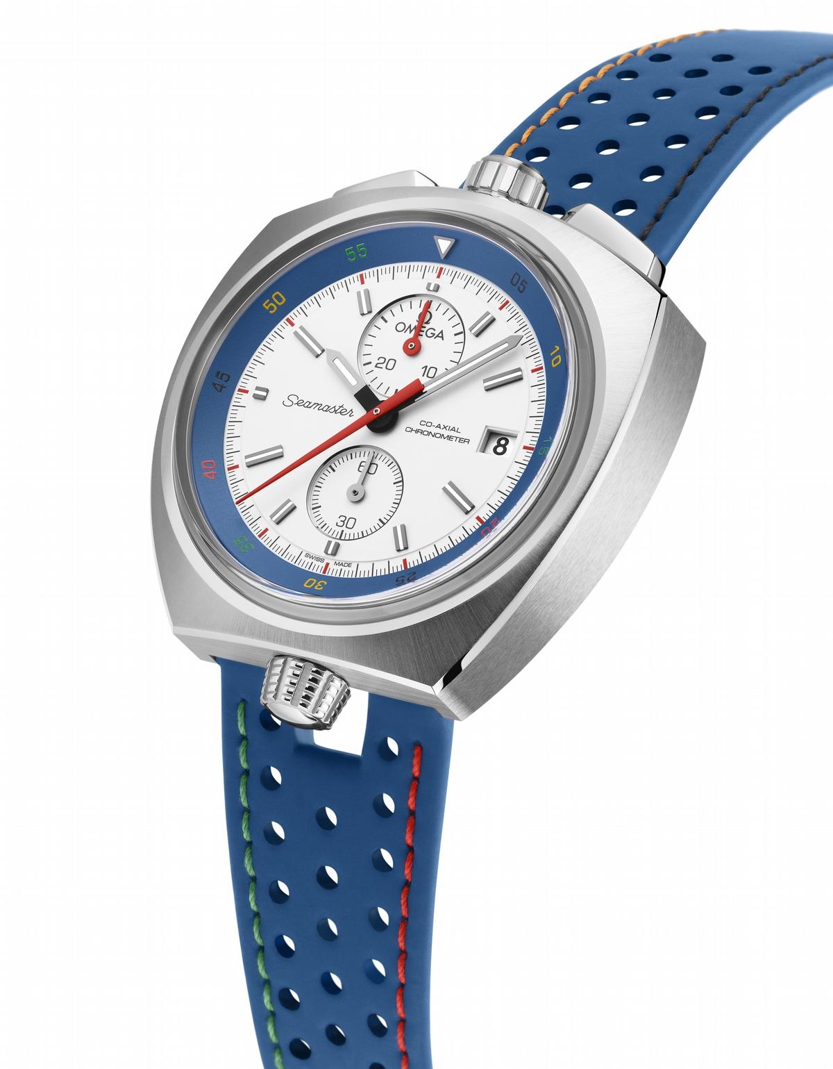 為里約奧運暖身 OMEGA錶現精采