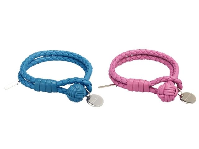 Bottega Veneta 小羊皮編織手環