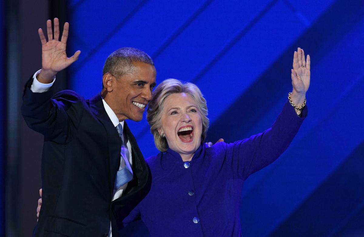 歐巴馬為希拉蕊站台,稱其為最佳接班人