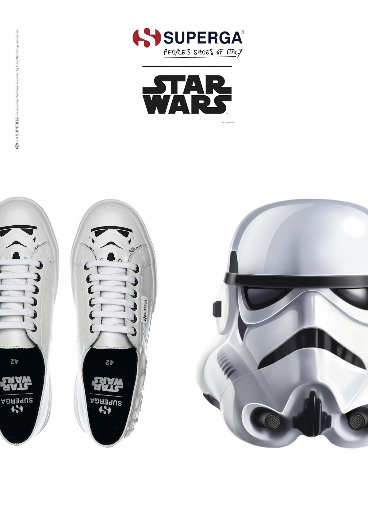 做個時髦的星戰迷!義大利國民鞋Superga推出STAR WARS星際最強鞋款