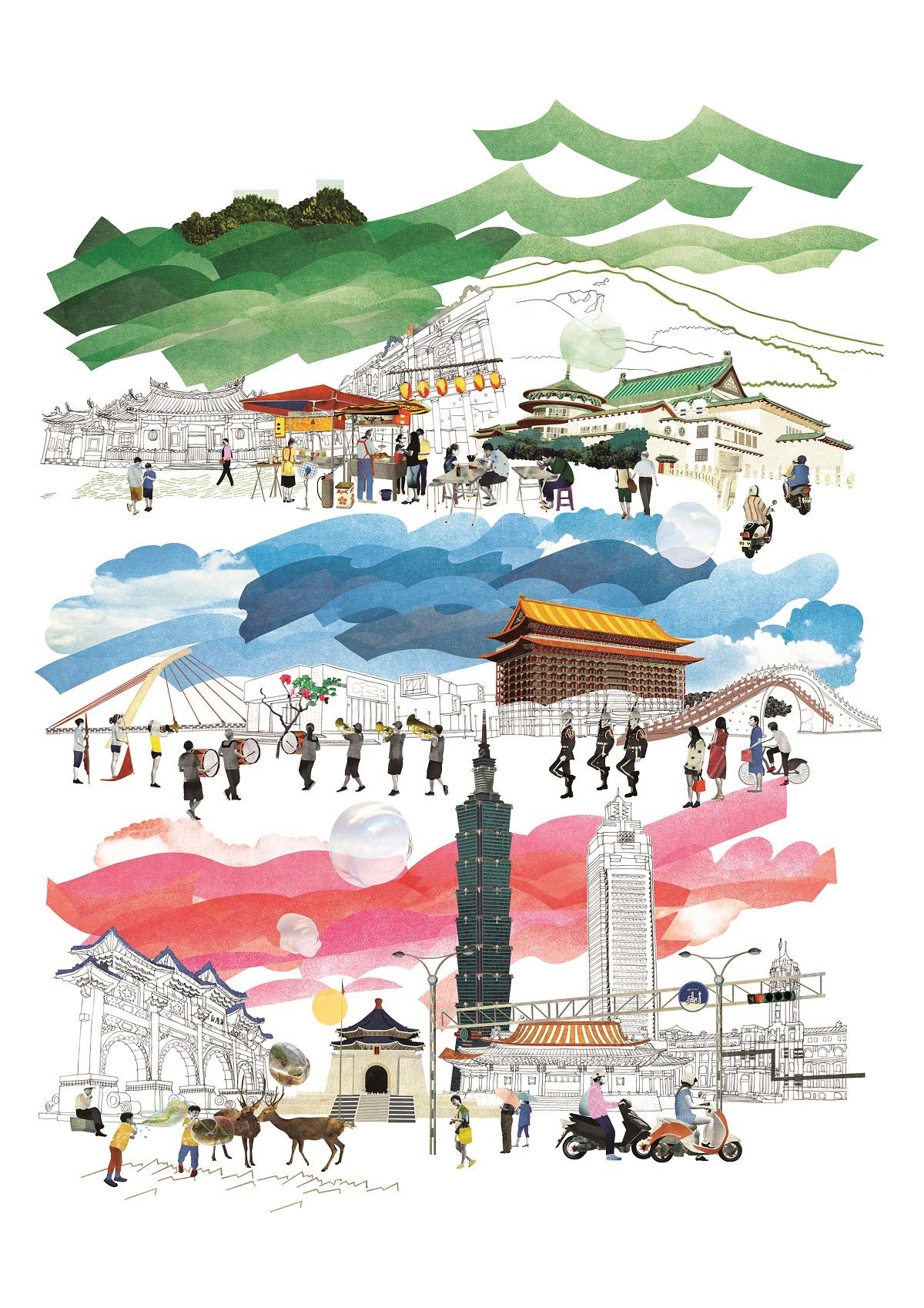 用視覺跑趴  插畫台灣新世代