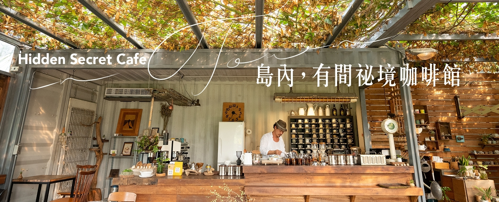 【島內秘境咖啡1】新北預約制溫室咖啡廳「Papa在三芝」整片浪漫藤蔓、私房甜點推薦,還能體驗手寫明信片、DIY手作課程