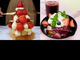 滿滿草莓太誘人!Dazzling Cafe情人節限定甜點「不能莓有你」1/24甜蜜登場