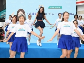 林志玲秀美腿尬舞國中嫩妹  放話下半年三目標!