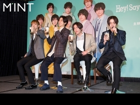 Hey!Say!JUMP 10月攻蛋 中島裕翔撂英文撩粉