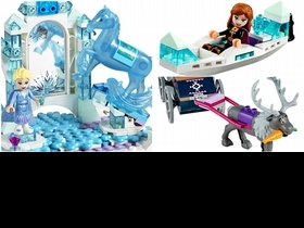 樂高x迪士尼聯名推出《冰雪奇緣2》6款積木組!重現浪漫冰宮場景,艾莎、雪寶超萌Q,公主迷必收