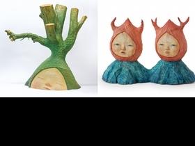 中村萌海外首展《GROWTH》在台灣!用雕刻詮釋綺幻生命