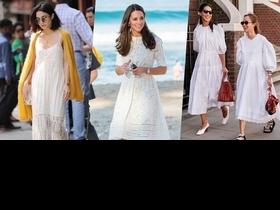 除了是遮肉神器還讓你秒GET仙氣!10款白色連身洋裝推薦,這個夏天絕對要入手