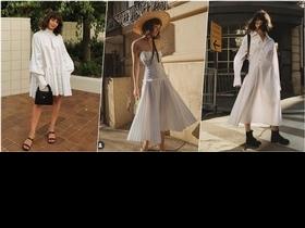 白色洋裝難駕馭?偷學潮人5個穿搭關鍵,簡單搭出時髦仙女氣息