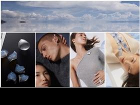 Boucheron年度高級珠寶Contemplation 創「異」材質,詩意天空