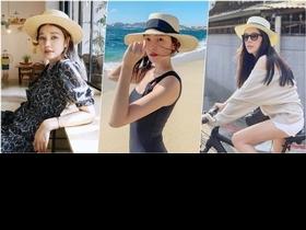 神百搭!跟著許瑋甯、許路兒的夏季草編帽穿搭,一起打造最亮眼LOOK
