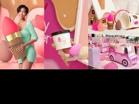 時尚名人莫莉 Molly 來推坑!超萌『beautyblender原創美妝蛋甜蜜派對系列』讓蛋迷們買好買滿,歲末趴底妝神器準備好!