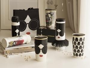 不敗的黑白時尚!星巴克 X Alice + Olivia聯名系列新品上市
