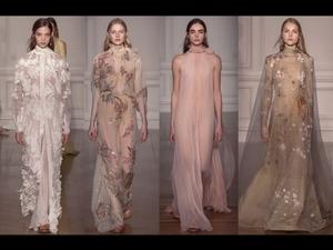 Valentino從夢中走出  2017春夏高級訂製服時裝周報導