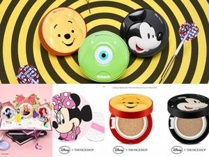 THE FACE SHOP簡直是氣墊聯名界神等級! 就算不是迪士尼控,看到這些氣墊也想下單,每一顆都好療癒心情