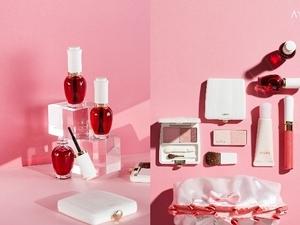 滿滿少女心~充滿櫻花柔和粉感色彩 用了心境也變Happy的全新AYURA彩妝