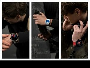 萬寶龍推出第一支智能手錶 復古1858數位變臉!