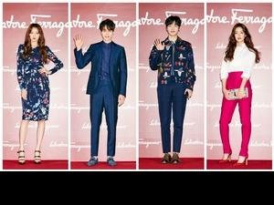 Salvatore Ferragamo 2017早秋女鞋  集結韓星於首爾發表!